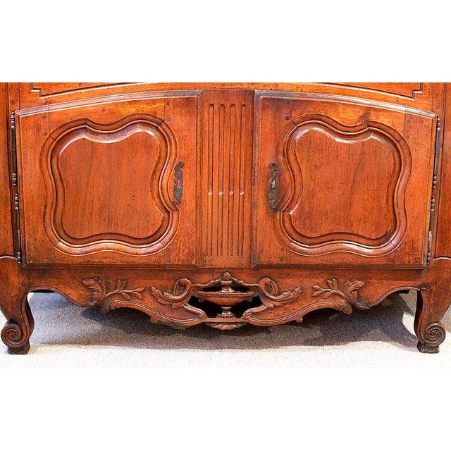 French Provençal Fruitwood Buffet With Carved and Pierced Skirt - Image 3 of 10