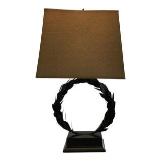 Laurel Wreath Lamp