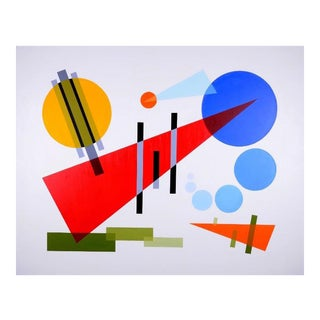 """Composition II"" Acrylic Painting"