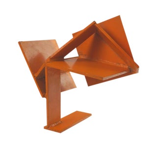 Vintage Orange Sculpture