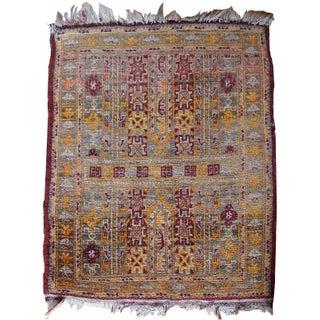 "Antique Afghan Baluch Rug - 1'6"" x 1'9"""