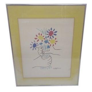 Petite Fleurs Print by Pablo Picasso