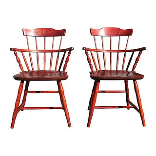 Early American Windsor Chairs - Set of 2