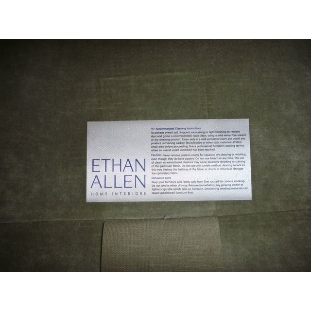 Ethan Allen Sage Arm Chair - Image 5 of 5