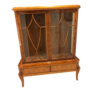 Neoclassical Ukranian Display Cabinet