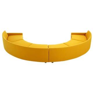 Milo Baughman Semi-Circle Sectional Sofa