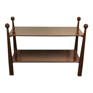 Jean Royère Style Two-Tier Console Table