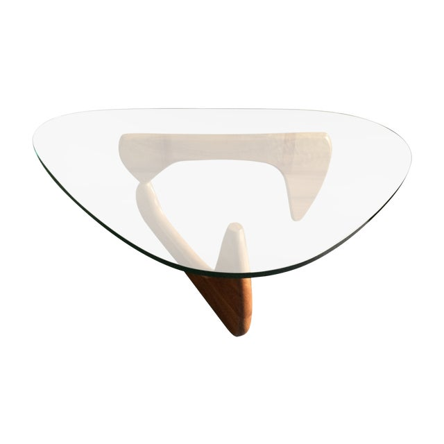 Noguchi coffee table by herman miller chairish Herman miller noguchi coffee table