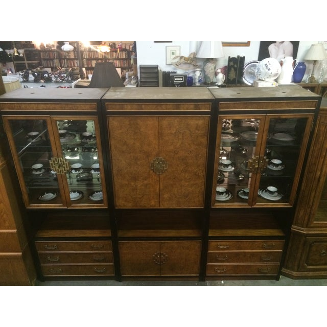 Century Asian-Style Entertainment Center Cabinet - Image 4 of 11