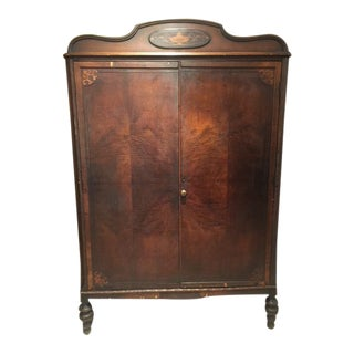 Antique Walnut Armoire