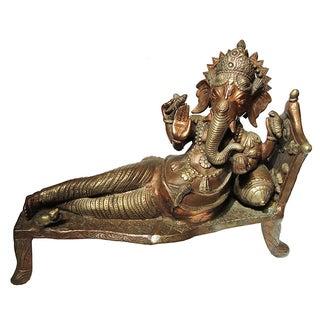 Asian Reclining Ganesha