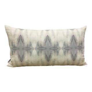 Sage & Pink Watercolor Style Lumbar Pillow