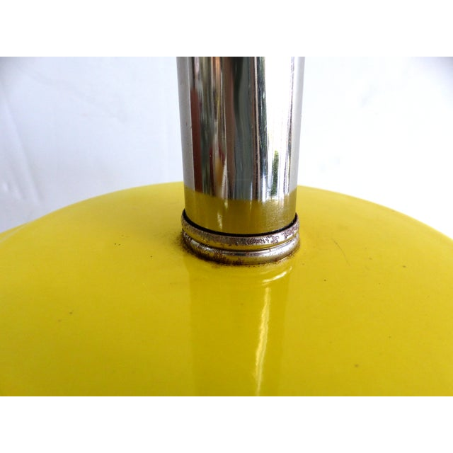 Pierre Cardin Style Glass Table Lamp - Image 7 of 7