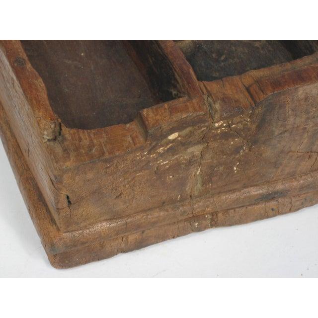 Vintage Large Betel Nut Wood Server - Image 4 of 4