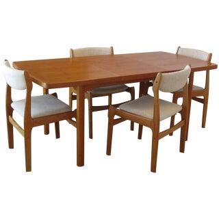 Mid Century Modern Teak Dining Set