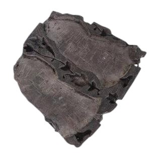 Antique Wooden Batik Fabric Cloth Textile Stamp