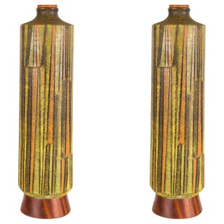Pair of Raymor Table Lamps