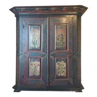 18th Century Painted Kas Wardrobe