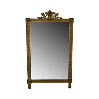Carvers Guild French Louis XV Style Gilt Frame Beveled Wall Mirror