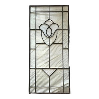 1800s Leaded Glass Window
