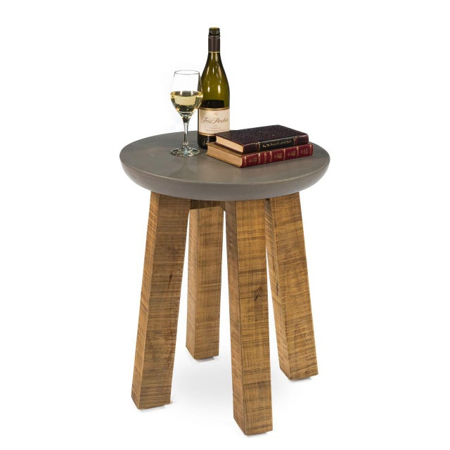 Sarreid LTD Gretchen Side Table - Image 2 of 5