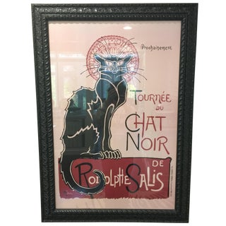 Vintage Chat Noir Art Print