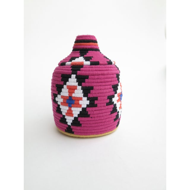 Image of Fuchsia Moroccan Bread Basket
