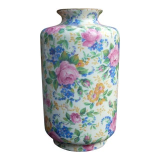 James Kent Chintz Flask Vase