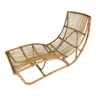 Franco Albini Bamboo Chaise Longue
