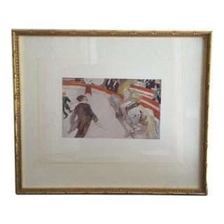 Toulouse Lautrec Reproduction Circus Print