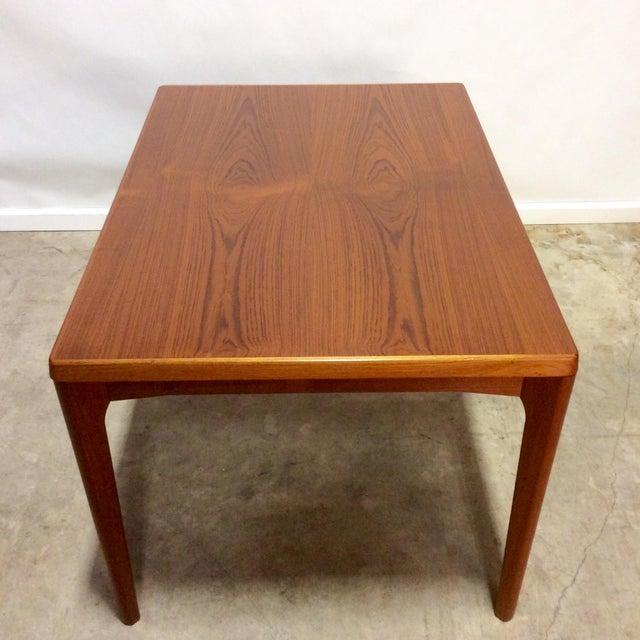 Danish Modern Teak Extension Dining Table - Image 4 of 6