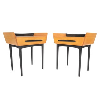 Swedish Modern Nightstands by Treman - A Pair