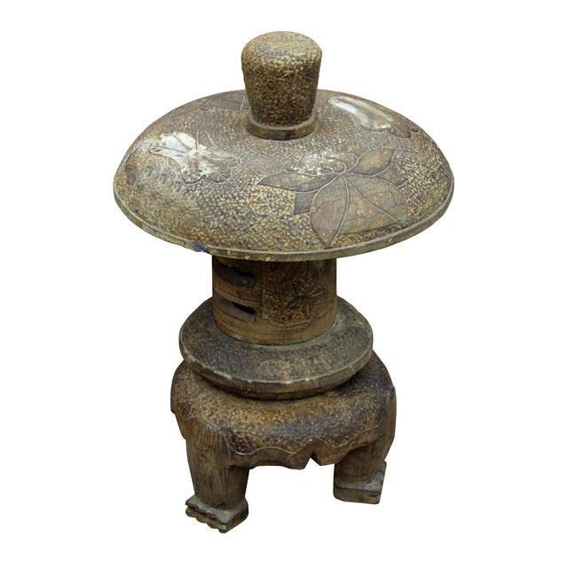 Chinese Stone Garden Lantern - Image 2 of 6