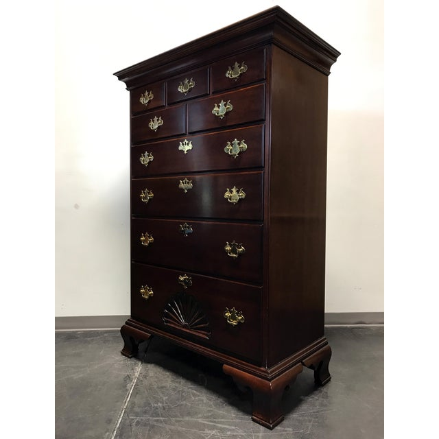 Statton Private Collection Solid Cherry Salem High Chest - Image 2 of 11