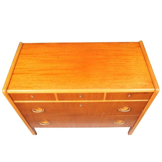 Image of Venesta Mid-Century Mahogany Dresser