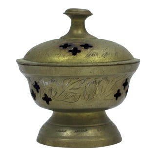 Indian Brass Incense Burner
