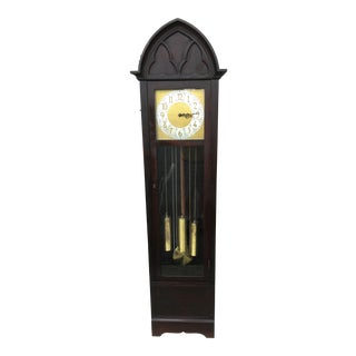 1930s/1940s Vintage Gothic Grandfather Clock