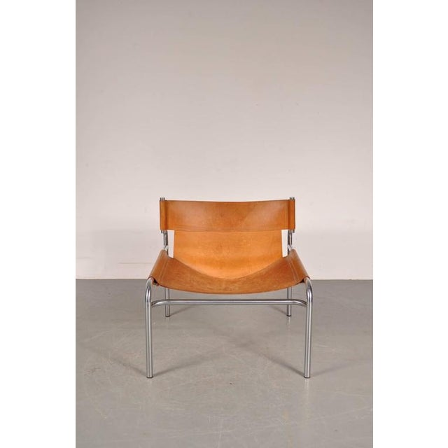 "Lounge Chair ""sz12"" by Walter Antonis for Spectrum, Netherlands, circa 1970 - Image 7 of 9"