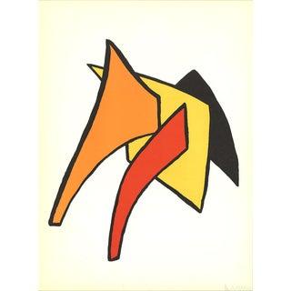 Alexander Calder Dlm No. 141 Page 7-1963 Lithograph