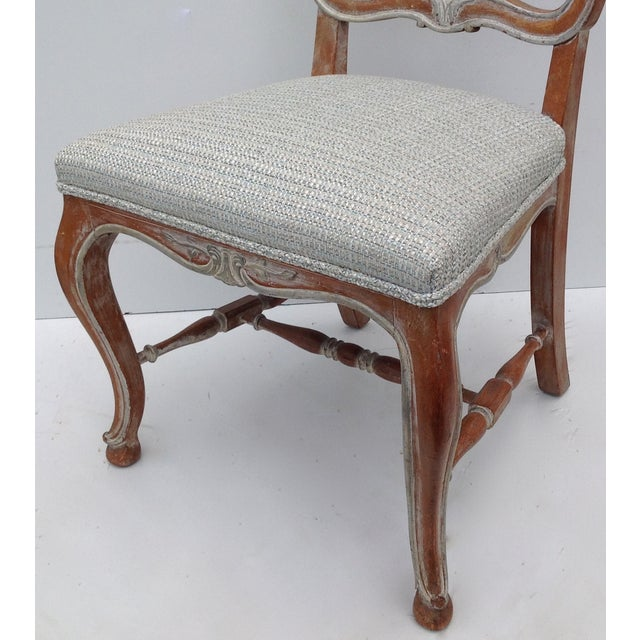 Antique French Parcel Gilt Accent Chair - Image 9 of 11