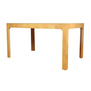 Herendon Burl Wood Small Dining Table