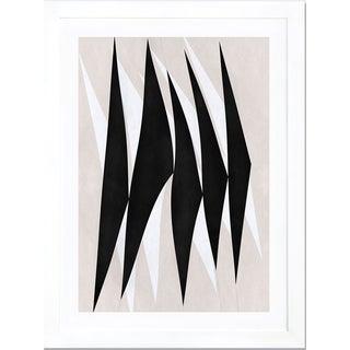 Modern Art - Zebra Print Tribal Paint Print