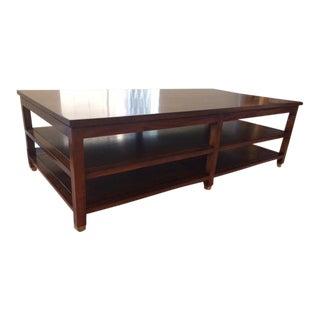 Custom Mahogany Coffee Table