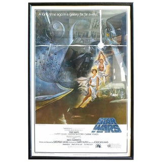 Original 1977 Star Wars 1st Printing One Sheet Rolled Poster