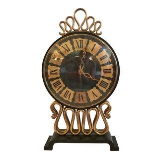 Mid-Century Bulova Table Clock
