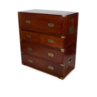 Modern Take on a Campaign Style Secretary Chest