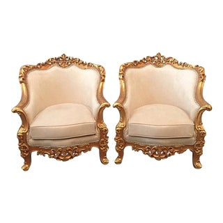 Baroque Bergeres - Pair