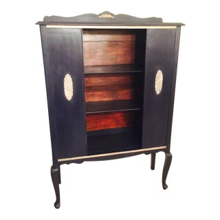 Vintage Hand Painted Cabinet