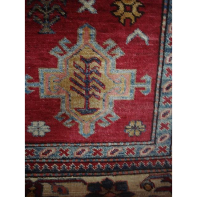 """Hand Woven Naturally Dyed Rug - 5'10"""" x 8' - Image 3 of 4"""