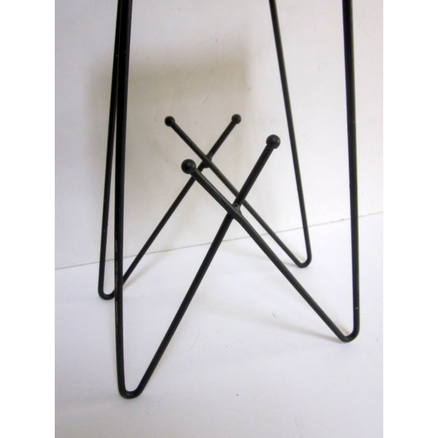 Mid-Century Modern Hairpin Atomic Ashtray Stand - Image 4 of 6